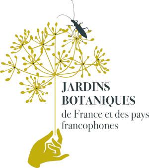 logotype Jardins botaniques de France et des Pays francophones
