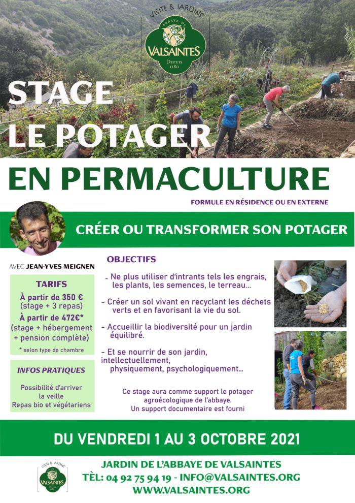 Affiche-stage-potager-permaculture-valsaintes-oct2021
